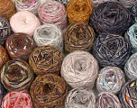 Custom Blends Please note that skein weight information given for this lot is average. Brand Ice Yarns, fnt2-56259