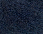 Fiber Content 58% Acrylic, 4% Elastan, 28% Mohair, 10% Virgin Wool, Navy, Brand Ice Yarns, fnt2-56265