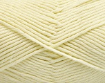Fiber Content 50% SuperFine Acrylic, 50% SuperFine Nylon, Brand ICE, Cream, Yarn Thickness 4 Medium  Worsted, Afghan, Aran, fnt2-56283