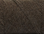 Fiber Content 50% Wool, 50% Acrylic, Brand ICE, Brown, Yarn Thickness 3 Light  DK, Light, Worsted, fnt2-56428