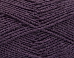Fiber Content 70% Acrylic, 30% Wool, Purple, Brand ICE, Yarn Thickness 4 Medium  Worsted, Afghan, Aran, fnt2-56484