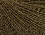 Fiber Content 50% Wool, 50% Acrylic, Brand ICE, Dark Khaki, Yarn Thickness 2 Fine  Sport, Baby, fnt2-56489