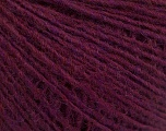 Fiber Content 50% Wool, 50% Acrylic, Lavender, Brand ICE, Burgundy, Yarn Thickness 2 Fine  Sport, Baby, fnt2-56491