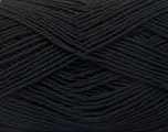 Fiber Content 100% Cotton, Brand ICE, Black, Yarn Thickness 2 Fine  Sport, Baby, fnt2-56497