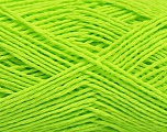 Fiber Content 100% Cotton, Neon Green, Brand ICE, Yarn Thickness 2 Fine  Sport, Baby, fnt2-56504