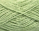Fiber Content 100% Cotton, Light Green, Brand ICE, Yarn Thickness 2 Fine  Sport, Baby, fnt2-56505