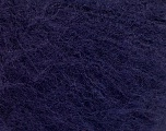 Knitted as 4 ply Fiber Content 40% Polyamide, 30% Kid Mohair, 30% Acrylic, Brand ICE, Dark Purple, Yarn Thickness 1 SuperFine  Sock, Fingering, Baby, fnt2-56525