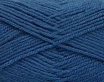 Fiber Content 100% Acrylic, Brand ICE, Blue, Yarn Thickness 3 Light  DK, Light, Worsted, fnt2-56571