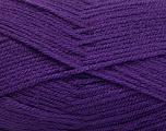 Fiber Content 100% Acrylic, Purple, Brand ICE, Yarn Thickness 3 Light  DK, Light, Worsted, fnt2-56572