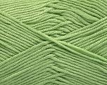 Fiber Content 50% Bamboo, 50% Acrylic, Mint Green, Brand ICE, Yarn Thickness 2 Fine  Sport, Baby, fnt2-56575