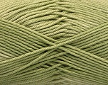 Fiber Content 100% Mercerised Cotton, Brand ICE, Green, Yarn Thickness 2 Fine  Sport, Baby, fnt2-56598