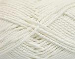 Fiber Content 70% Mako Cotton, 30% Polyamide, White, Brand ICE, Yarn Thickness 3 Light  DK, Light, Worsted, fnt2-56649