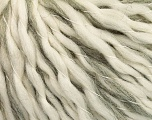 Fiber Content 78% Wool, 22% Acrylic, Brand ICE, Grey, Cream, fnt2-56666