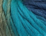 Fiber Content 100% Wool, Turquoise, Khaki, Brand ICE, Blue, Yarn Thickness 5 Bulky  Chunky, Craft, Rug, fnt2-56678