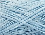 Fiber Content 100% Acrylic, Light Blue, Brand ICE, Yarn Thickness 3 Light  DK, Light, Worsted, fnt2-56693