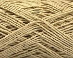 Fiber Content 100% Cotton, Brand ICE, Beige, Yarn Thickness 2 Fine  Sport, Baby, fnt2-56714
