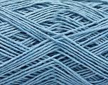 Fiber Content 100% Cotton, Light Blue, Brand ICE, Yarn Thickness 2 Fine  Sport, Baby, fnt2-56716