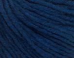 Fiber Content 50% Wool, 50% Acrylic, Brand ICE, Dark Blue, Yarn Thickness 4 Medium  Worsted, Afghan, Aran, fnt2-56742