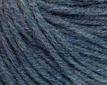 Fiber Content 50% Acrylic, 50% Wool, Jeans Blue, Brand ICE, Yarn Thickness 4 Medium  Worsted, Afghan, Aran, fnt2-56743