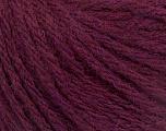 Fiber Content 50% Acrylic, 50% Wool, Maroon, Brand ICE, Yarn Thickness 4 Medium  Worsted, Afghan, Aran, fnt2-56747