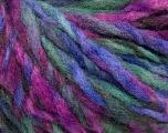 Fiber Content 40% Wool, 35% Acrylic, 25% Polyamide, Purple, Brand ICE, Green, Blue, fnt2-56776