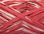 Fiber Content 100% Cotton, White, Marsala Red, Brand ICE, Yarn Thickness 5 Bulky  Chunky, Craft, Rug, fnt2-56791