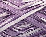 Fiber Content 100% Cotton, White, Lilac, Brand ICE, Yarn Thickness 5 Bulky  Chunky, Craft, Rug, fnt2-56794