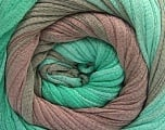 Fiber Content 100% Cotton, Mint Green, Brand ICE, Camel, Yarn Thickness 4 Medium  Worsted, Afghan, Aran, fnt2-56799