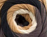 Fiber Content 100% Cotton, White, Brand ICE, Cafe Latte, Brown, Anthracite, Yarn Thickness 4 Medium  Worsted, Afghan, Aran, fnt2-56801