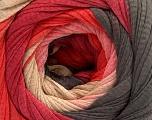 Fiber Content 100% Cotton, Salmon, Brand ICE, Dark Brown, Burgundy, Beige, Yarn Thickness 4 Medium  Worsted, Afghan, Aran, fnt2-56806