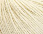 Fiber Content 50% Extrafine Merino Wool, 50% Polyamide, Brand ICE, Cream, fnt2-56820