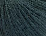 Fiber Content 50% Extrafine Merino Wool, 50% Polyamide, Brand ICE, Dark Green, fnt2-56822