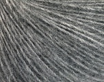 Fiber Content 50% Acrylic, 30% Mohair, 20% Wool, Brand ICE, Grey, fnt2-56824