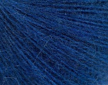 Fiber Content 50% Acrylic, 30% Mohair, 20% Wool, Brand ICE, Blue, fnt2-56826