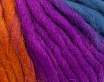 Fiber Content 100% Wool, Brand ICE, Gold, Fuchsia, Blue, Yarn Thickness 5 Bulky  Chunky, Craft, Rug, fnt2-56860