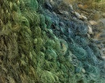 Fiber Content 60% Acrylic, 40% Mohair, Brand ICE, Green Shades, fnt2-56870