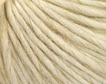 Fiber Content 50% Wool, 30% Acrylic, 20% Linen, Brand ICE, Cream, fnt2-56881
