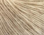 Fiber Content 44% Polyamide, 38% Merino Wool, 18% Alpaca, Brand ICE, Beige Melange, Yarn Thickness 2 Fine  Sport, Baby, fnt2-56892