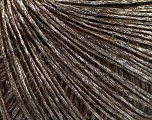 Fiber Content 45% Polyamide, 21% Wool, 19% Acrylic, 15% Mohair, Silver, Brand ICE, Brown, Yarn Thickness 2 Fine  Sport, Baby, fnt2-56950