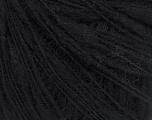 Fiber Content 52% Extrafine Merino Wool, 48% Polyamide, Brand ICE, Black, Yarn Thickness 2 Fine  Sport, Baby, fnt2-56956