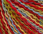 Fiber Content 50% Acrylic, 50% Wool, Yellow, Red, Brand ICE, Green, Blue, fnt2-56972