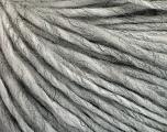 Fasergehalt 50% Wolle, 50% Acryl, Brand ICE, Grey Melange, fnt2-57001