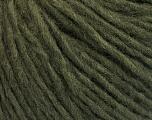 Fasergehalt 50% Wolle, 50% Acryl, Brand ICE, Dark Green, fnt2-57005