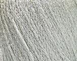 Conţinut de fibre 80% Acrilic, 20% Metalic lurex, White, Silver, Brand ICE, fnt2-57021