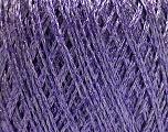 Fiber Content 75% Viscose, 25% Metallic Lurex, Lilac, Brand ICE, Yarn Thickness 2 Fine  Sport, Baby, fnt2-57028