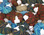 Self-Striping Yarns Please note that skein weight information given for this lot is average. Brand ICE, fnt2-57059