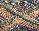 Fiber Content 80% Cotton, 20% Polyamide, Orange, Brand ICE, Gold, Cream, Blue, fnt2-57140
