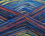 Fiber Content 80% Cotton, 20% Polyamide, Brand ICE, Green, Copper, Blue Shades, fnt2-57141