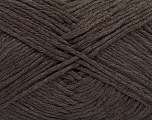 Please note that the yarn weight and the ball length may vary from one color to another for this yarn. Fiber Content 100% Cotton, Brand ICE, Dark Brown, Yarn Thickness 3 Light  DK, Light, Worsted, fnt2-57158