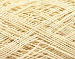 Fiber Content 100% Cotton, Brand ICE, Cream, Yarn Thickness 1 SuperFine  Sock, Fingering, Baby, fnt2-57180